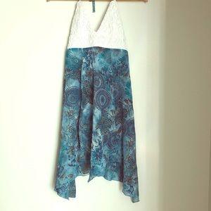 🔴 SALE🔴 XOXO Boho Crochet asymmetrical Top